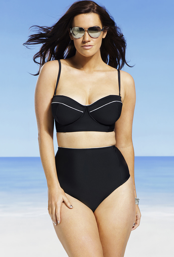 Plus Size Swimwear & Bathing Suits Soak up the sun (and all the attention) in our sexy plus size swimwear & bathing suits collection. Rock a one-piece swimsuit for days when you feel like doing laps or show off some skin with a new plus size bikini.